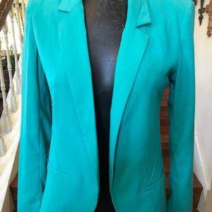 Forever 21 Aqua blazer/jacket new small